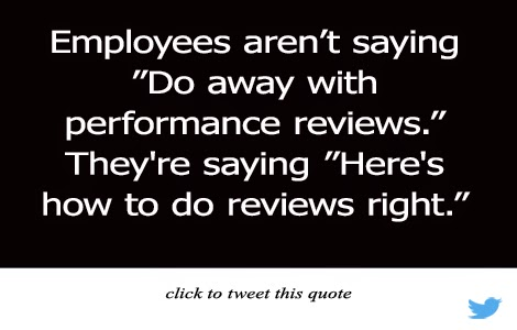 Performance Review Beat Down or Blueprint for Improvement?